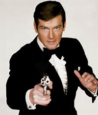 Image result for roger moore 007