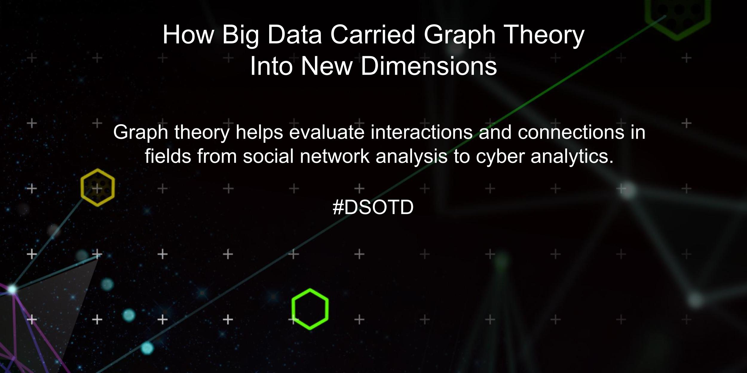 Graph theory helps evaluate interactions and connections in fields from social network analysis to cyber analytics.