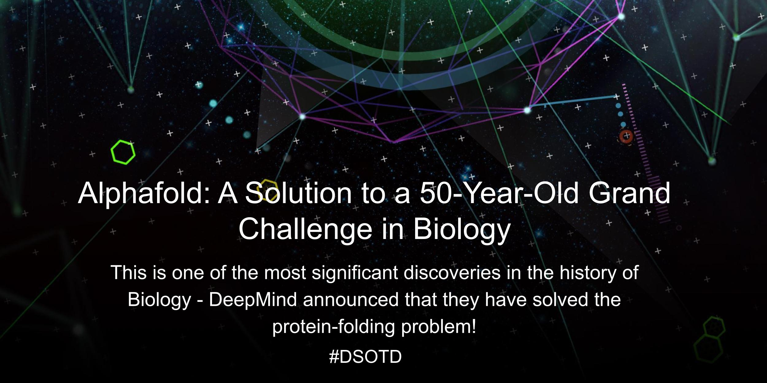 This is one of the most significant discoveries in the history of Biology - DeepMind announced that they have solved the protein-folding problem!