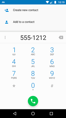 Dialing a Switchboard Phone Number With an Extension &/or