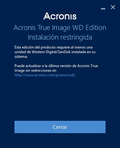 Acronis screen message.JPG