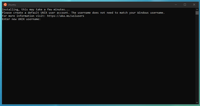 Installing Ubuntu in the command line
