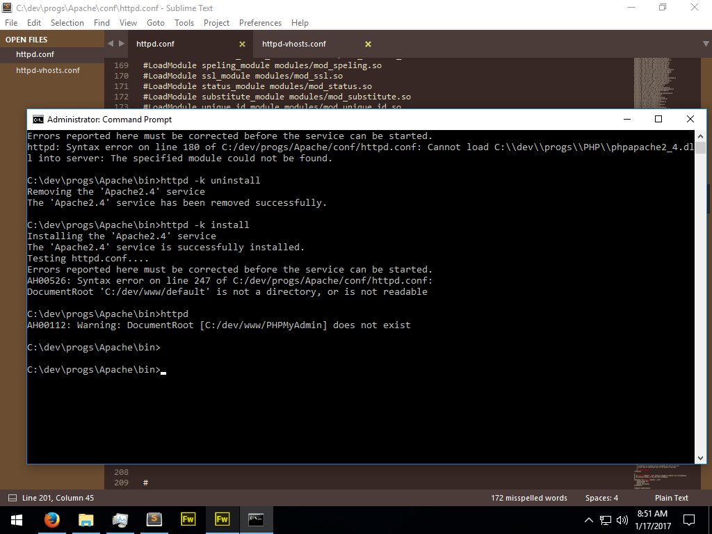 Command Prompt - Finished