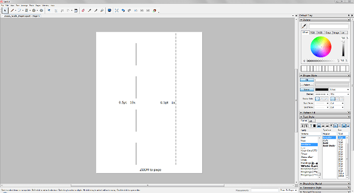 Layout Export to PDF linetype Issue  Please Help - LayOut