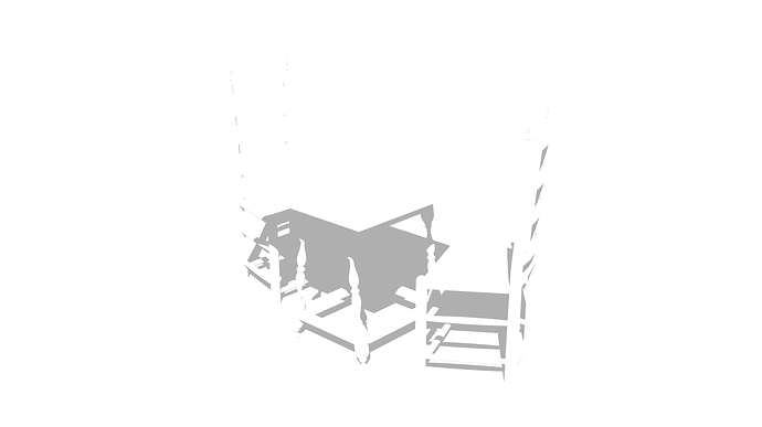 Tavern Table and chair shadow2