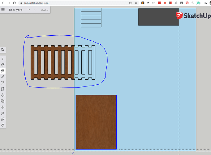 sketchup paint issue