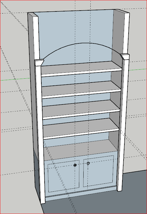 SketchUp avoid connecting geometry