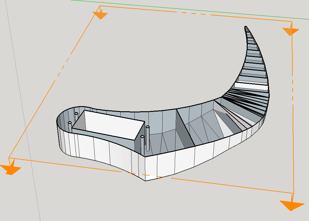Missing layers of object in Cura - 3D Printing - SketchUp
