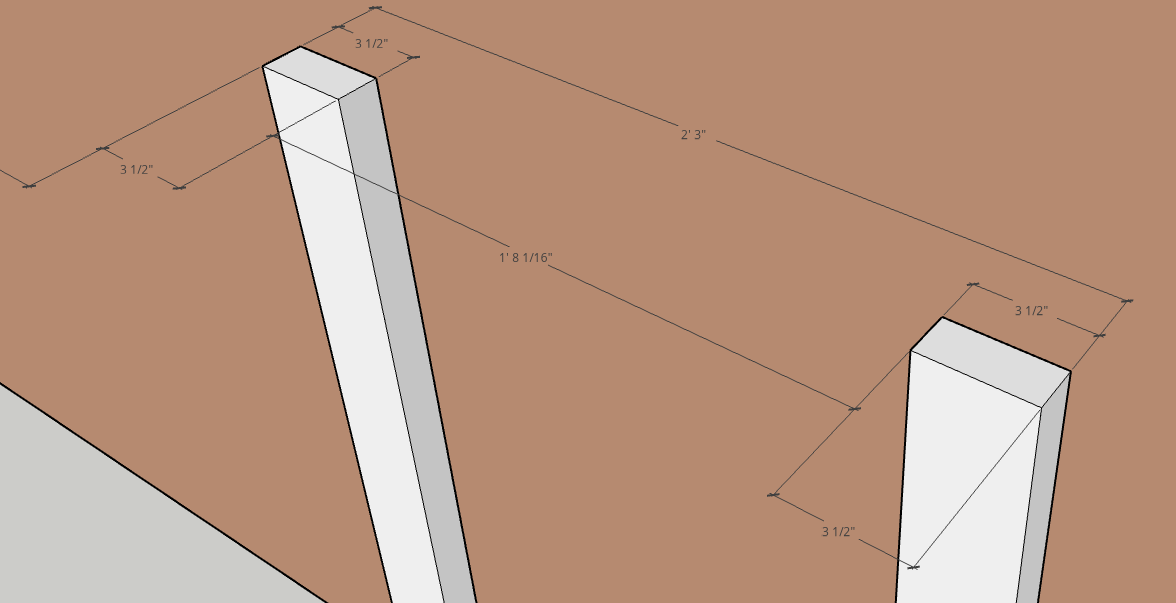 Sketchup measure bug