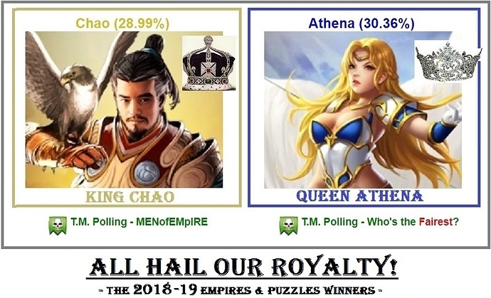 Empires-And-Puzzles_2018-2019_KING_AND_QUEEN_Titan-Mafia