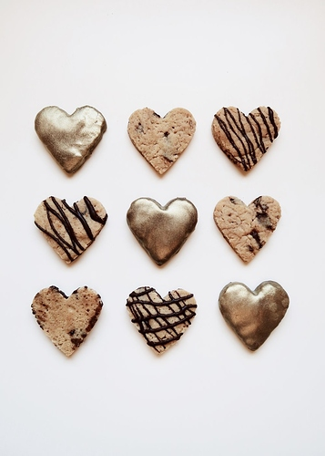 DIY%20Gold%20Heart%20Chocolate%20Cookies%20by%20Isoscella