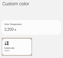 colorTemperature