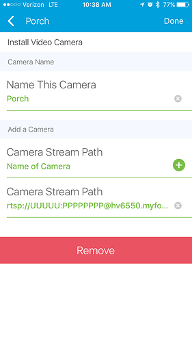 RELEASE] Generic Video Camera DeviceType, Yes, Live Video Streaming