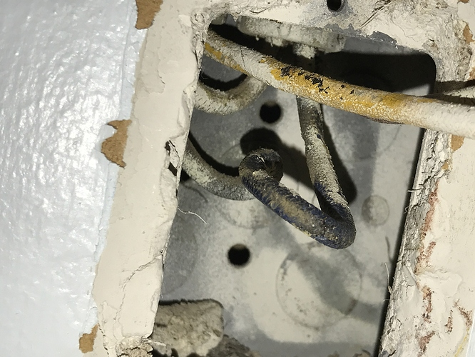 Help me identify these wires (old house) - Devices ... Old House Wiring Identification on
