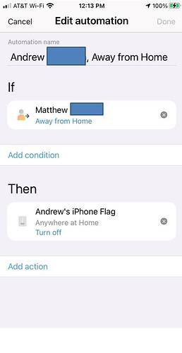 Logic of Away from Home
