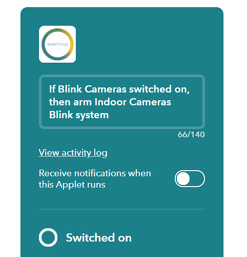 2018-07-24%2022_23_10-If%20Blink%20Cameras%20switched%20on%2C%20then%20arm%20Indoor%20Cameras%20Blink%20system%20-%20IFTTT