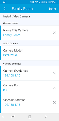 RELEASE] D-Link Camera Manager (Connect) - Add your D-Link IP