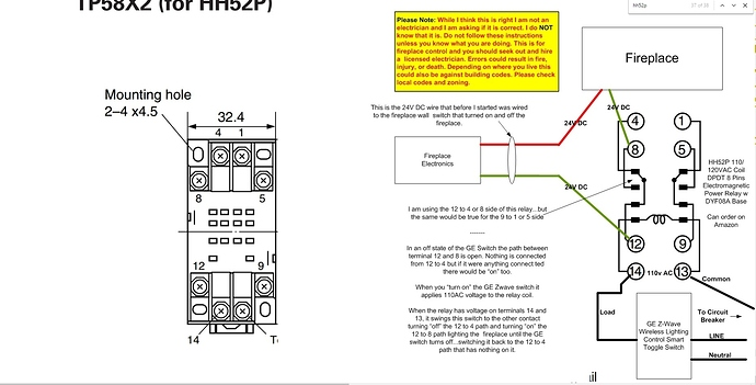 need help with my fireplace projects \u0026 stories smartthings community Limit Switch Wiring Diagram