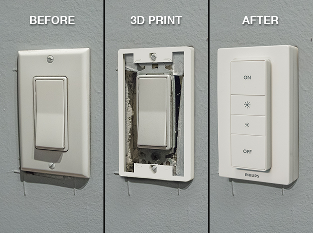 Switch cover for Hue dimmer? - Ideas and Suggestions