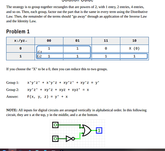 snapshot of answer for problem 2