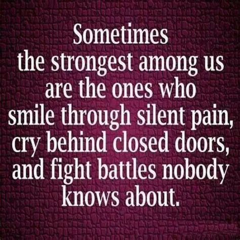 pix 8 Strongest - smile thru silent pain