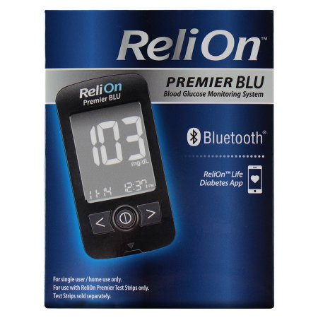 The ReliOn Premier Blu: a new Walmart Bluetooth meter with