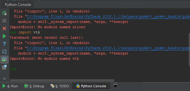 Access slicer modules and libraries in pycharm - Support - 3D Slicer
