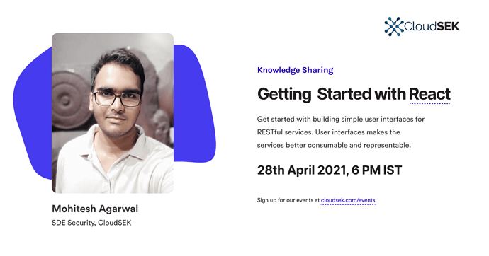 Getting started with React-Mohitesh (1)