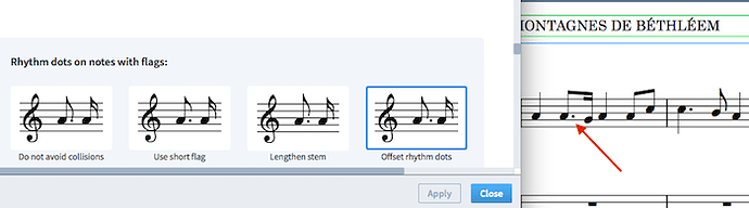 Offset Rhythm Dot before breaking the beam.png