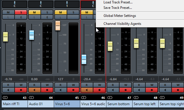 different selected tracks mixer.png