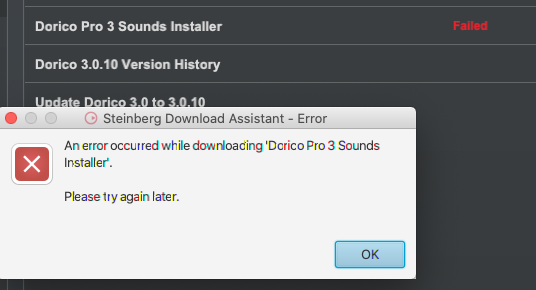 Installation error message Dorico Sounds.png