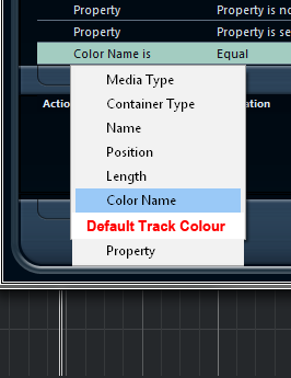 Default Track Colour
