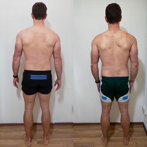 Week Twenty-Three Back Comparison