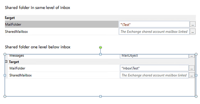 Can't get to Exchange shared mailbox folders - RPA Dev Rookies