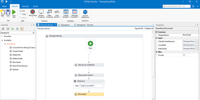 How to download file from Sharepoint - RPA Dev Advanced