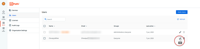 add groups from users