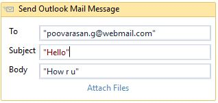 Send Outlook Mail