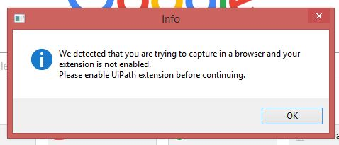 My chrome extension is not working properly - RPA Dev