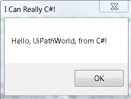 How to Execute C# code in UiPath - RPA Dev Advanced - UiPath