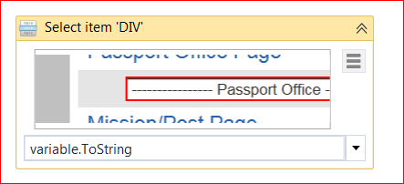 How to dynamically select a value from dropdown using
