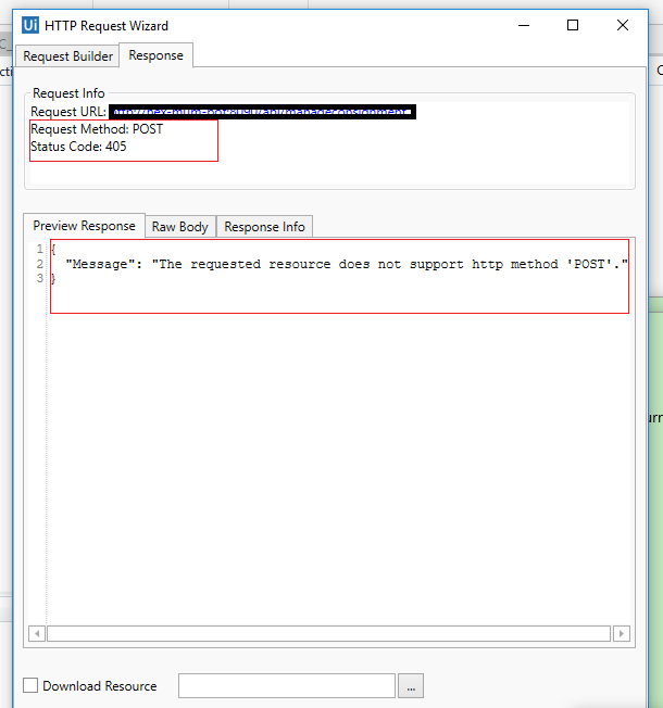 How to call Rest API through UIPatha activity http request /http