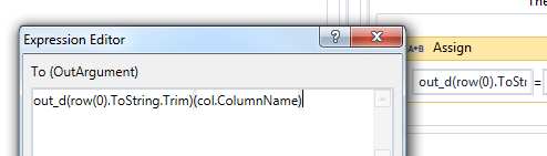 Create a dictionary from a CSV, for each column - RPA Dev