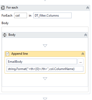 Add Table Data In Email Body Rpa Developers Uipath
