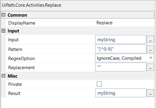 Use more than one delimiter in Split String Activity? - RPA Dev