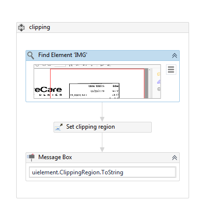 Unable to get coordinates for Find Element activity - RPA