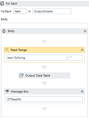 How to merge datatables obtained from a loop which gets datatable