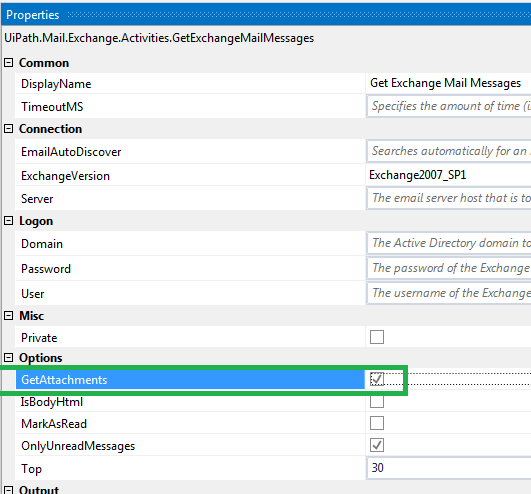 Save Attachments activity not working - RPA Dev Advanced