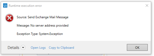 How to send on behalf emails using Send Exchange Mail