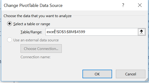 Changing Data Source of Pivot table - RPA Dev Rookies