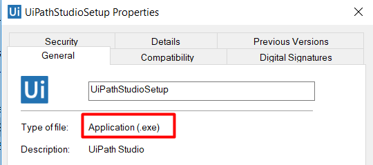 UiPath Community Edition Software Download file Issue
